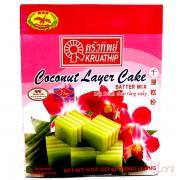 Coconut Layer Cake - KRUATHIP