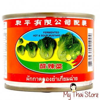 Fermented Hot & Sour Mustard Green - PIGEON BRAND