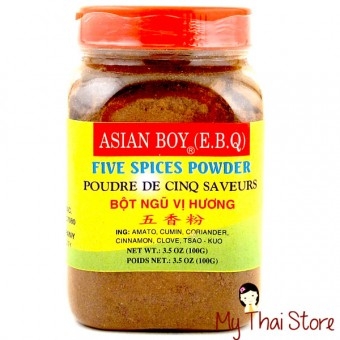 Five Spices Powder - ASIAN BOY (E.B.Q.)