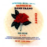 Spring Roll Skin - RED ROSE
