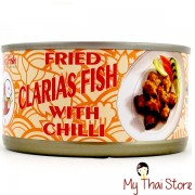 Fried Clarias Fish With Chilli - SMILING FISH