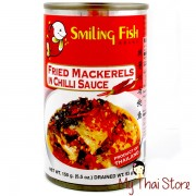 Fried Mackerels in Chilli Sauce - SMILING FISH