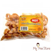 Fried Sliced Pork Skin (Hot) - TOP NAM SAUSAGE CO.