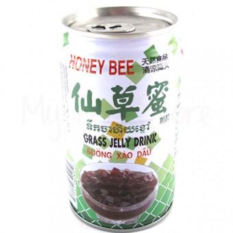 Grass Jelly Drink  - HONEY BEE
