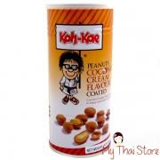 Peanuts Coconuts Cream Flavor Coated  -  KOH KAE