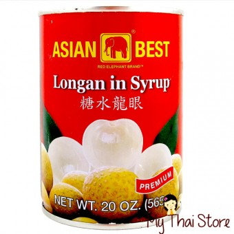 Longan in Syrup  -  ASIAN BEST