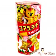 Koala's March Strawberry Cream Filled Cookies - LOTTE