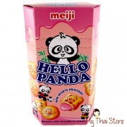 Hello Panda Biscuits With Strawberry Cream - MEIJI