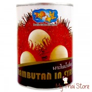 Rambutan In Syrup - DOUBLE GOLDEN FISH