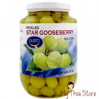 Pickled Star Gooseberry (Ma Yom) - FLOWER