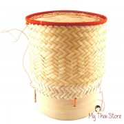 Sticky Rice Serving Basket 5 Inch wide