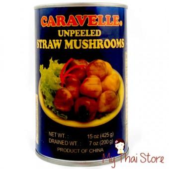 Unpeeled Straw Mushroom - CARAVELLE
